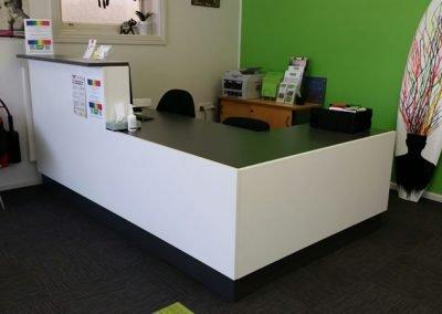 Made to order reception desks