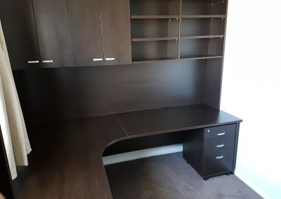 Custom designed office furniture