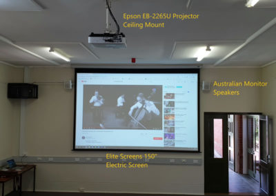 Conference Room Projector System 1