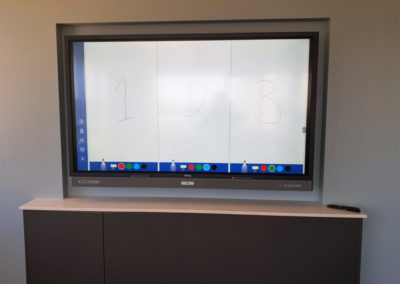 Corporate Board Room Interactive Whiteboard Monitor