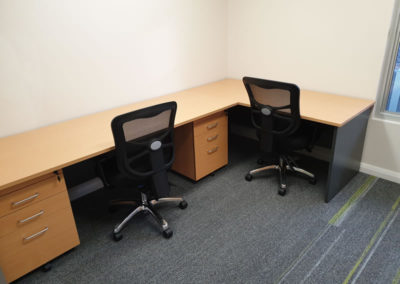 Made to order custom cut desks