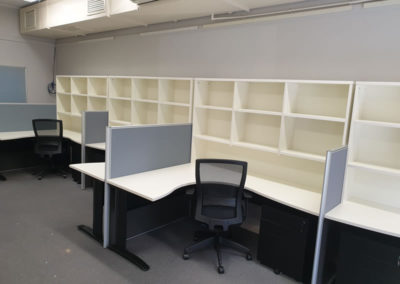 Partitioned Desking
