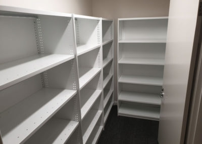 Shelving for Storage Rooms