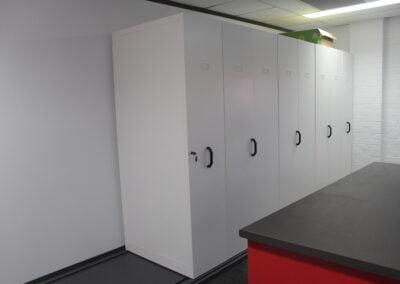 Rapidline mobile shelving (compactus unit)