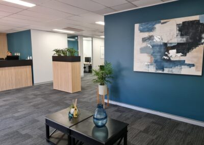 Finished Office Fit Out at Lithgow