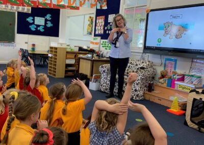 Example of a 65 inch BenQ Panel installed by Colemans in every classroom at Canowindra Public School
