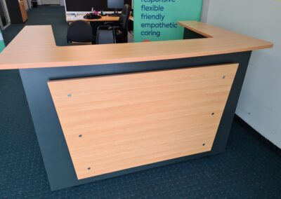 Oxley Reception Counter front scaled