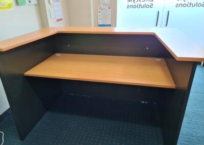 Oxley Reception desk rear
