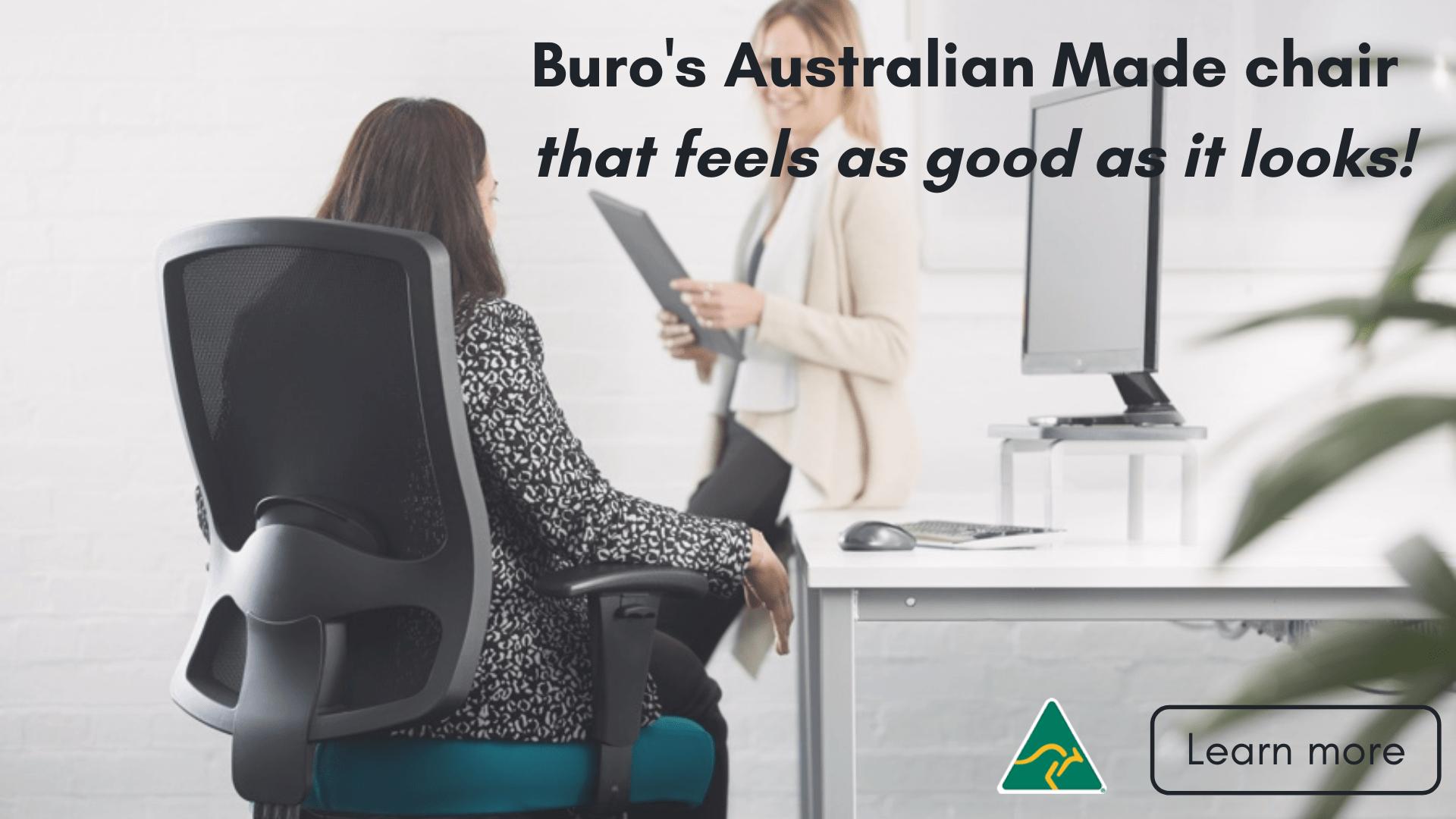 Buro's Australian made chair